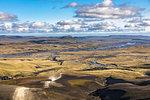 Along the dirt road F208 towards Landmannalaugar (Southern Region, Iceland, Europe)