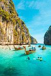 Ao Pileh (Pileh Lagoon), Ko Phi Phi Leh, Krabi Province, Thailand.