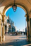 St Mark's basilica, Venice, Veneto, Italy.