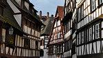Half timbered houses,Strasbourg,Alsace, France