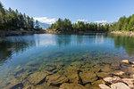 Lago Azzurro, Spluga Valley, province of Sondrio, Valtellina, Lombardy, Italy