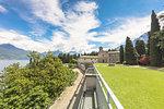 The cistercian religious complex of Piona Abbey (Abbazia Priorato di Piona), Colico, Lecco province, Lombardy, Italy