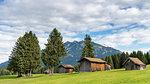 Barns in Garmisch Partenkirchen Europe, Germany, Bayern, Garmisch Partenkirchen