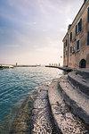Punta San Vigilio harbour, Garda, Garda Lake, Verona district, Veneto, Italy