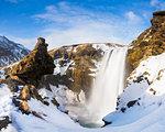 Skogafoss waterfall, Skogaa, Iceland