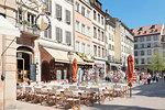 Restaurant near Place de la Cathedrale, Strasbourg, Alsace, France, Europe