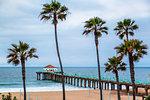 Manhattan Beach Pier, California, United States of America, North America