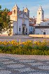 Santa Maria and Santo Antonio Churches at Lagos, Algarve, Portugal, Europe