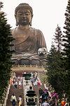 Tian Tan (Altar of Heaven), The Big Buddha and Po Lin Monastery, Lantau Island, Hong Kong, China, Asia