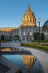 View of San Francisco City Hall, San Francisco, California, United States of America, North America