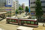 Kumamoto Tram, Kumamoto Prefecture, Japan
