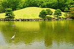 Suizenji Jojuen Garden in Spring, Kumamoto Prefecture, Japan