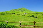 Field in Aso, Kumamoto Prefecture, Japan