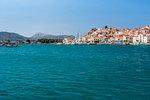 Poros Island port, Saronic Island, Aegean Coast, Greek Islands, Greece, Europe