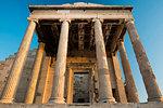 Acropolis at sunset, UNESCO World Heritage Site, Athens, Attica Region, Greece, Europe