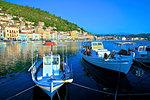 The Harbour at Gytheio, Mani Peninsula, The Peloponnese, Greece, Europe