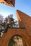 Medieval towers of Pavia, Pavia province, Lombardy, Italy, Europe