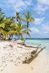 The beautiful Island Pelicano in the San Blas Islands, Kuna Yala, Panama, Central America