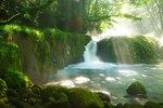 Reimei Falls, Kumamoto Prefecture, Japan