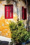 Colourful walls in Athens, Attica Region, Greece, Europe