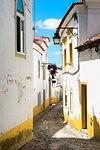 Narrow Street, Historical centre, Evora, Alentejo, Portugal, Europe