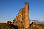 Cornish Engine House, Magpie Mine, historic lead mine, National Monument, Peak District National Park, Derbyshire, England, United Kingdom, Europe