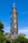 The Nelson Monument, Calton Hill, Edinburgh, Scotland, United Kingdom, Europe