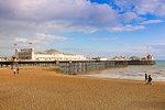 Brighton Palace Pier (Brighton Pier), Brighton, East Sussex, England, United Kingdom, Europe