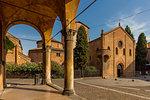 Piazza San Lorenzo, Bologna, Emilia-Romagna, Italy, Europe