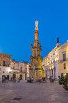 Piazza Salandra, Nardo, Puglia, Italy, Europe