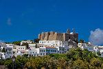 Chora of Patmos, Dodecanese, Greek Islands, Greece, Europe