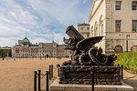 The Cadiz Memorial, on Horse Guards Parade ground, London, England, United Kingdom, Europe