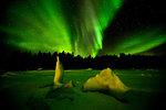 Northern Lights, White Sea, Russia