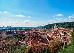Mala Strana (Lesser Town), elevated view, UNESCO World Heritage Site, Prague, Bohemia Region, Czech Republic, Europe