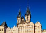 Church of Our Lady before Tyn, Prague, UNESCO World Heritage Site, Bohemia Region, Czech Republic, Europe