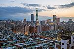 City skyline and Taipei 101 building, Taipei, Taiwan, Asia