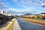 Kamo River, Kyoto, Japan, Asia