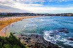 Bondi Beach and seascape view, Sidney, Australia