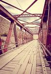 Old bridge in Tilcara Pukara, Argentina