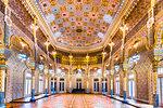The elaborate Arabic Room inside the Stock Exchange Palace (Palacio da Bolsa) in Porto, Norte, Portugal