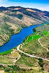 View of the Douro River Valley from the Museu do Coa, Vila Nova de Foz Coa, Norte, Portugal