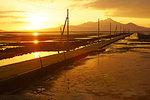 Nagabeta Fishery Tidal Road, Kumamoto Prefecture, Japan