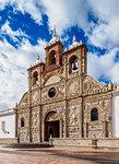 San Pedro Cathedral, Maldonado Park, Riobamba, Chimborazo Province, Ecuador, South America