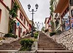Stairway up the Santa Ana Hill, Las Penas Neighbourhood, Guayaquil, Guayas Province, Ecuador, South America