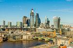 The City of London skyline, London, England, United Kingdom, Europe