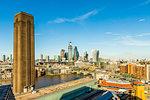 The London skyline, London, England, United Kingdom, Europe