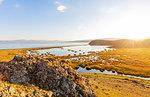 Songkol Lake, Kyrgyzstan, Central Asia, Asia