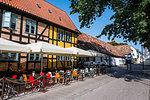 Historical buildings in Lund, Sweden, Scandinavia, Europe