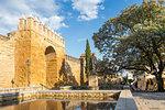 Historical Almodavar Gate, Cordoba, Andalusia, Spain, Europe