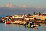 Fishing boats, Ponta Delgada City, Sao Miguel Island, Azores, Portugal, Atlantic, Europe